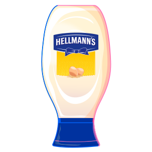 Hellmanns squiz bottle